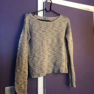 Olivia Sky open weave sweater